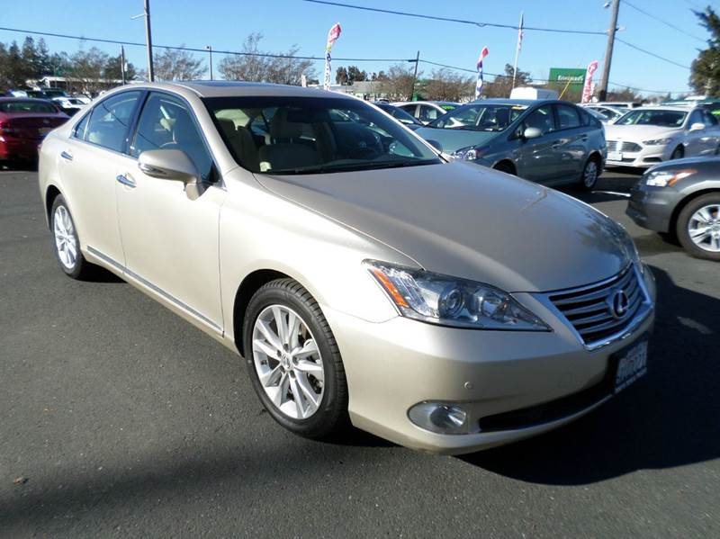 2010 LEXUS ES 350 BASE 4DR SEDAN gold clean vehicleonly 69932 miles abs - 4-wheel air filtr