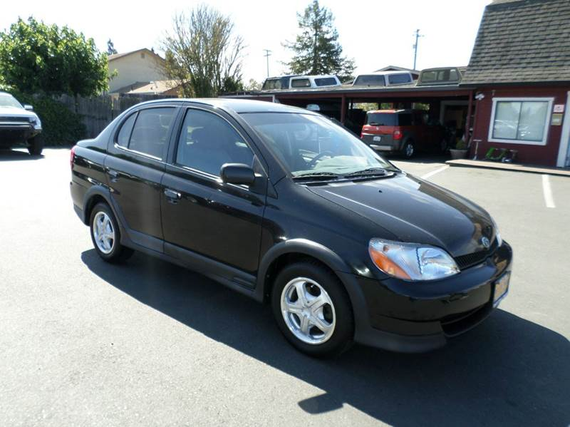 2002 TOYOTA ECHO BASE 4DR SEDAN black center console front airbags - dual front seat type - buc