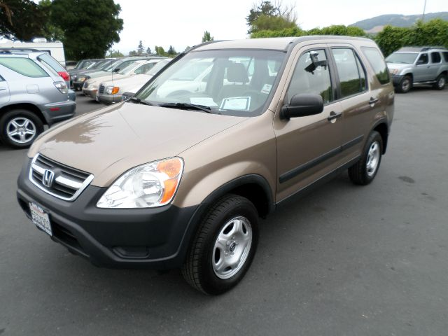 2004 HONDA CR-V LX AWD 4DR SUV gold one owner vehicle been serviced at local dealership awd