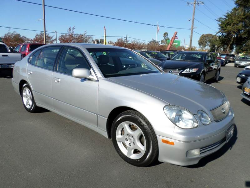 1998 LEXUS GS 300 BASE 4DR SEDAN silver one owner vehicle  abs - 4-wheel anti-theft syste