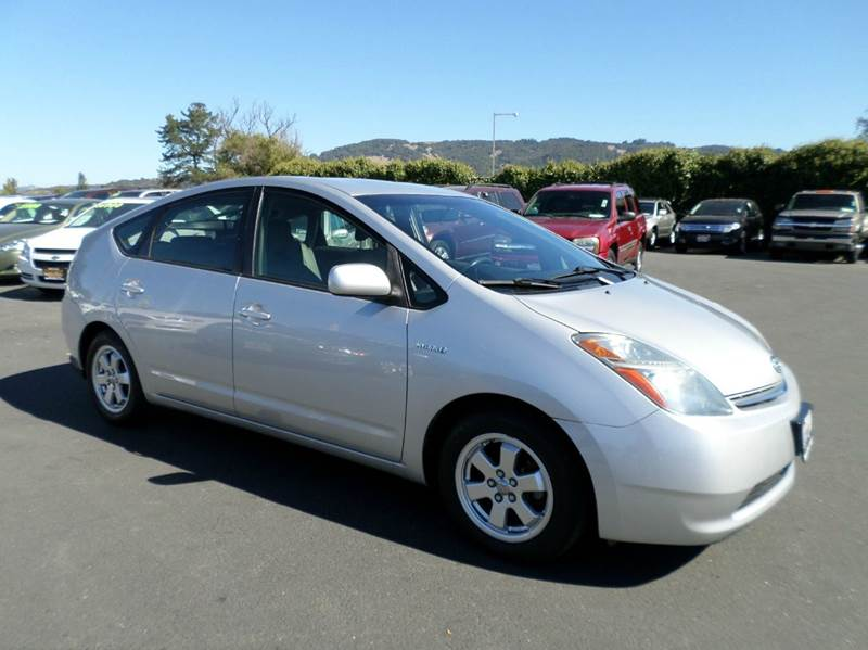 2008 TOYOTA PRIUS STANDARD 4DR HATCHBACK silver one owner vehicle 2-stage unlocking - remote