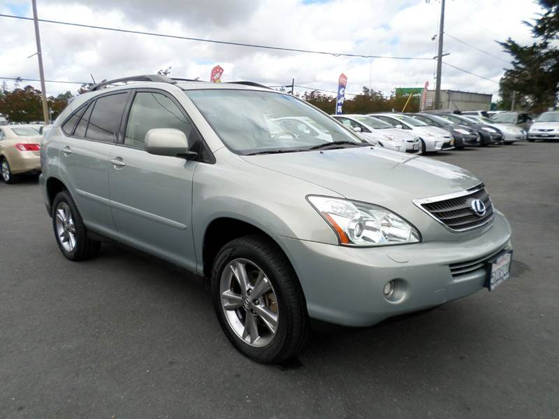2007 LEXUS RX 400H BASE AWD 4DR SUV gray hybridnew tiresawd 2-stage unlocking