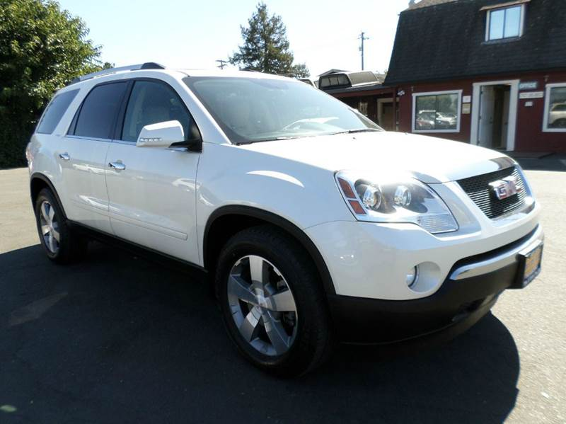 2012 GMC ACADIA SLT 1 AWD 4DR SUV white 1 owner trucknew tires only 49053 miles 4wd