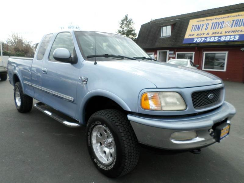 1998 FORD F-150 XLT 3DR 4WD EXTENDED CAB SB