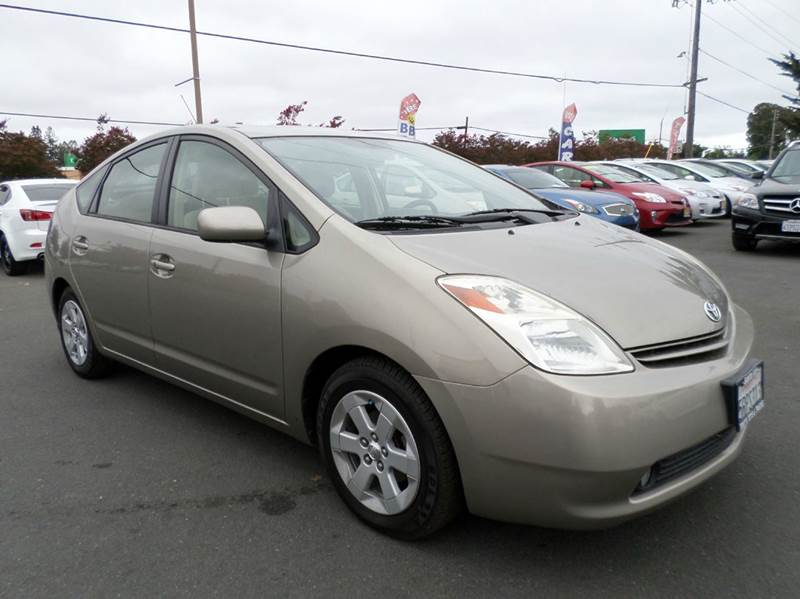 2005 TOYOTA PRIUS BASE 4DR HATCHBACK gold one owner prius new tires abs - 4-wheel c