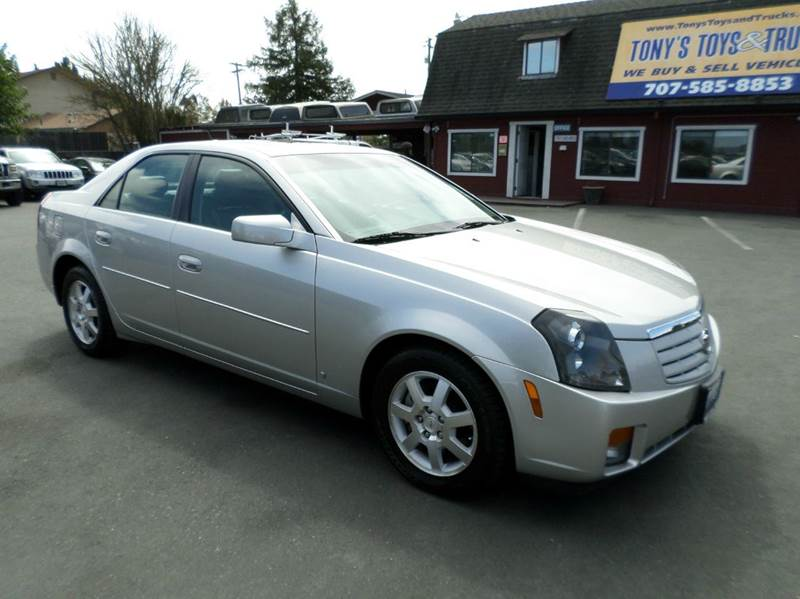 2007 CADILLAC CTS BASE 4DR SEDAN 36L V6 silver low mileage 2-stage unlocking doors abs -