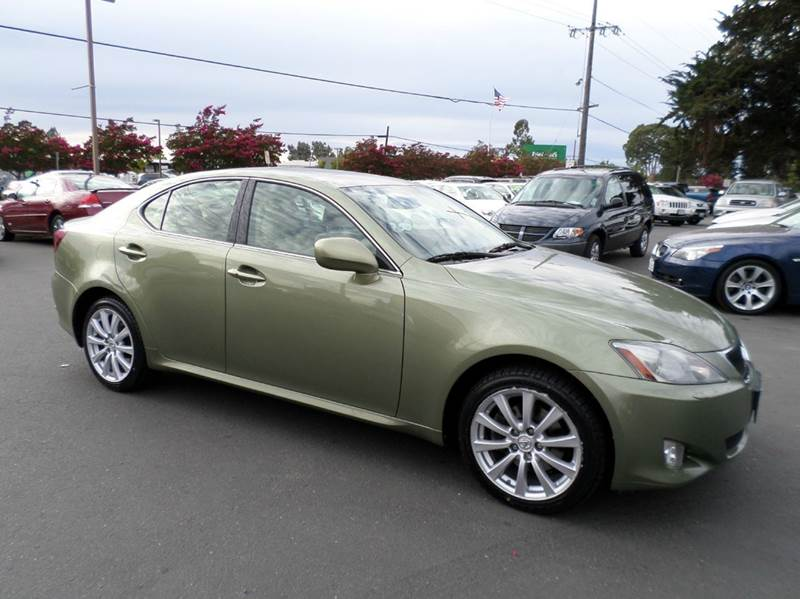 2006 LEXUS IS 250 BASE AWD 4DR SEDAN lt green serviced regurlaly new tires extra clean sp