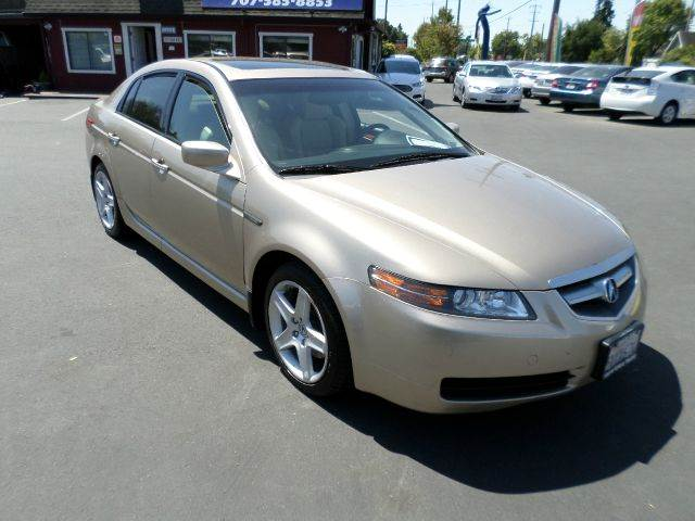 2006 ACURA TL BASE WNAVI 4DR SEDAN WNAV SYST abs - 4-wheel air filtration airbag deactivation
