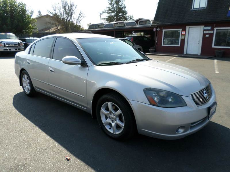 2006 NISSAN ALTIMA 25 S 4DR SEDAN WAUTOMATIC silver 2127 mpg on sale active head
