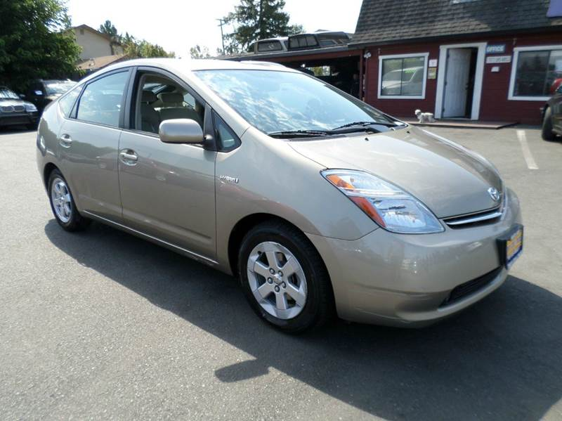 2008 TOYOTA PRIUS TOURING 4DR HATCHBACK gold new tires back up camera 2-stage unloc