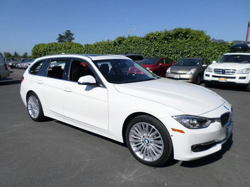 2015 BMW 3 SERIES 328I XDRIVE AWD 4DR WAGON white 2-stage unlocking doors 4wd type - full time a