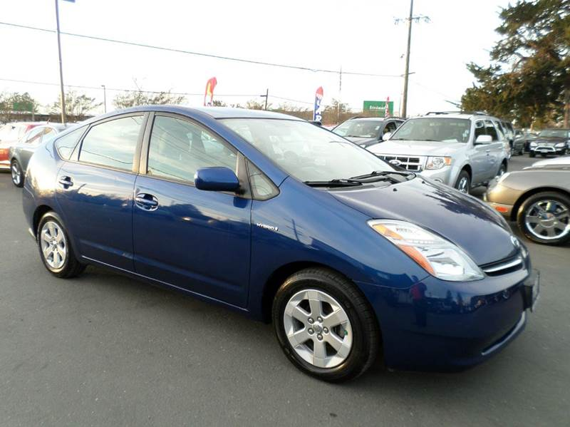 2008 TOYOTA PRIUS BASE 4DR HATCHBACK blue one owner vehicle 2-stage unlocking doors abs -