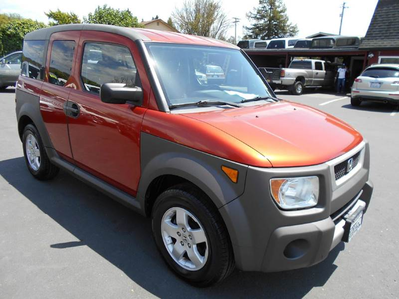 2005 HONDA ELEMENT EX AWD 4DR SUV orange abs - 4-wheel clock cruise control exterior mirrors -