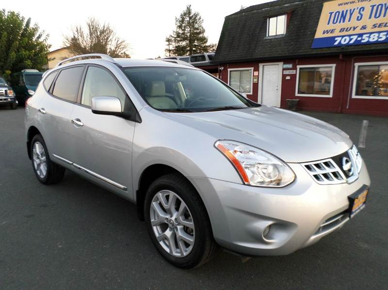 2011 NISSAN ROGUE SV 4DR CROSSOVER silver one owner vehicle 2-stage unlocking doors abs - 4-wheel