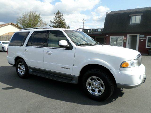 2000 LINCOLN NAVIGATOR BASE 4DR STD 4WD SUV white abs - 4-wheel adjustable pedals - power air s