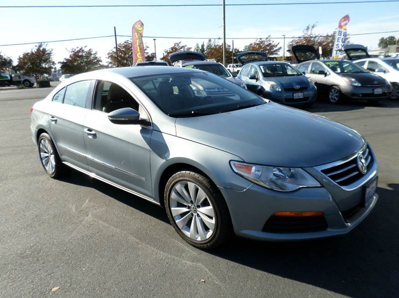 2012 VOLKSWAGEN CC SPORT PZEV 4DR SEDAN 6A lt blue abs - 4-wheel additional key - removable vale