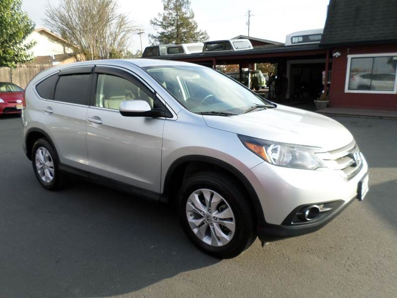 2013 HONDA CR-V EX AWD 4DR SUV silver 1 owner 4wd type - on demand abs - 4-wheel active head re