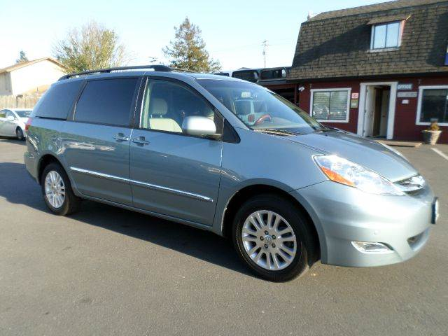 2008 TOYOTA SIENNA XLE LIMITED AWD MINI VAN PASSENG blue one owner carfax vehicle been service