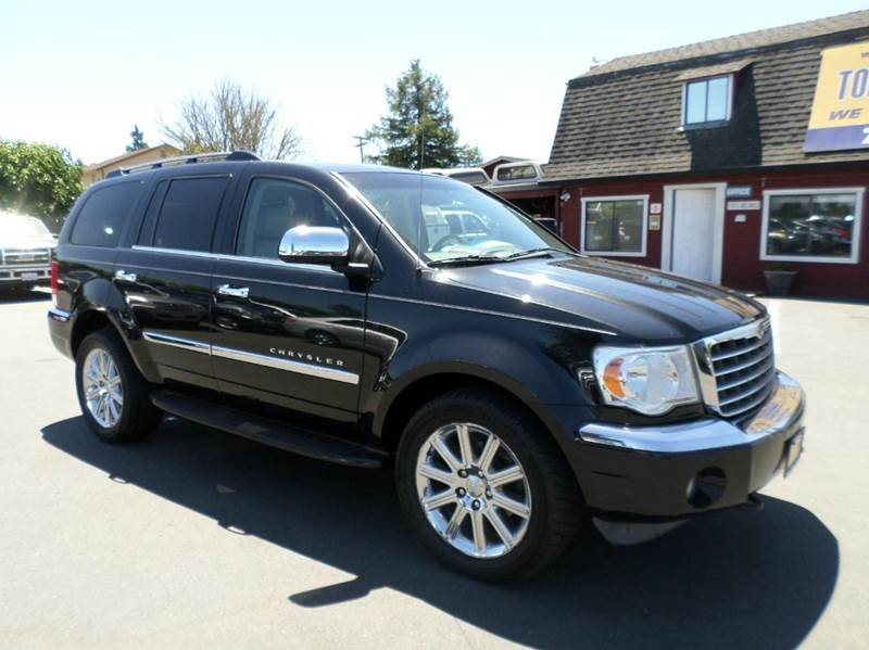 2008 CHRYSLER ASPEN LIMITED 4X4 4DR SUV black limited4wd 2-stage unlocking doors 4wd type