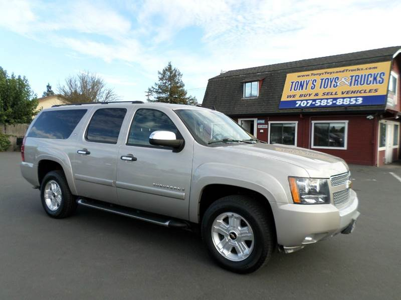 2008 CHEVROLET SUBURBAN LT 1500 4X4 4DR SUV gold z71 off road package lt model leather