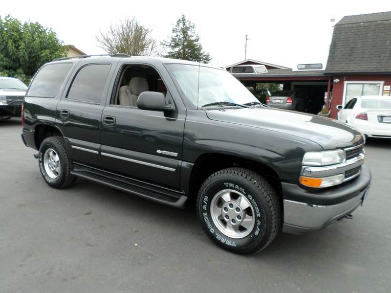 2003 CHEVROLET TAHOE LS 4WD 4DR SUV drk gray new tires 4x4 3rd row seating abs - 4-whe