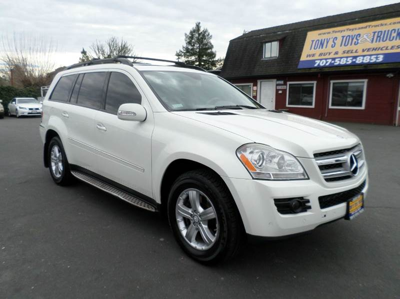 2008 MERCEDES-BENZ GL-CLASS GL 450 4MATIC AWD 4DR SUV pearl white 2-stage unlocking doors 3rd row