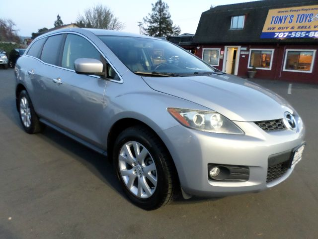 2007 MAZDA CX-7 GRAND TOURING AWD 4DR SUV silver low mileage vehicle 2-stage unlocking -