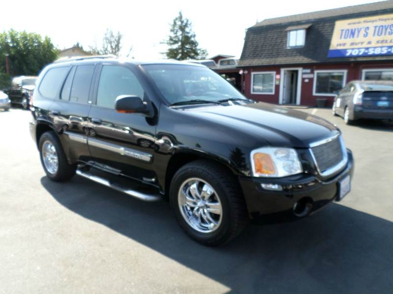 2002 GMC ENVOY SLT 4WD 4DR SUV black 4wd selector - electronic hi-lo 4wd type - part time w on