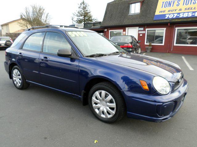 2002 SUBARU IMPREZA 25 TS AWD 4DR SPORT WAGON blue 1 owner vehicle awd 5 speed abs - 4-wh