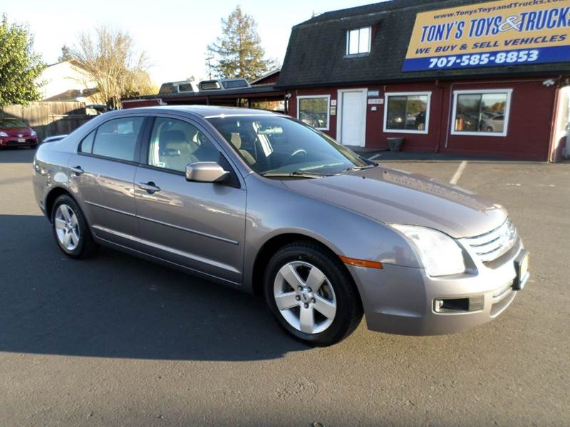2007 FORD FUSION V6 SE 4DR SEDAN gray new tires airbag deactivation - occupant sensing passe