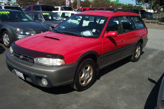 1997 SUBARU LEGACY OUTBACK LIMITED red abs brakesair conditioningalloy wheelsanti-brake system