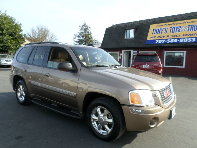2002 GMC ENVOY SLE 4WD 4DR SUV gold 17 inch wheels abs - 4-wheel anti-theft system - alarm axle