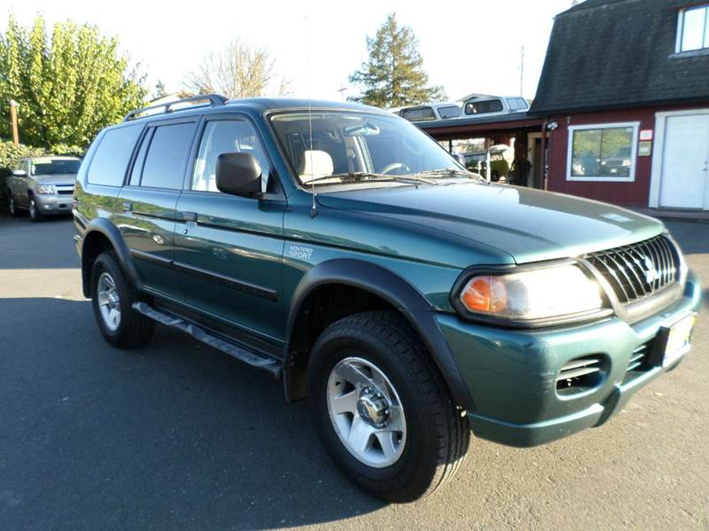 2003 MITSUBISHI MONTERO SPORT LS 4DR SUV green one owner vehicle abs - 4-wheel axle ratio -