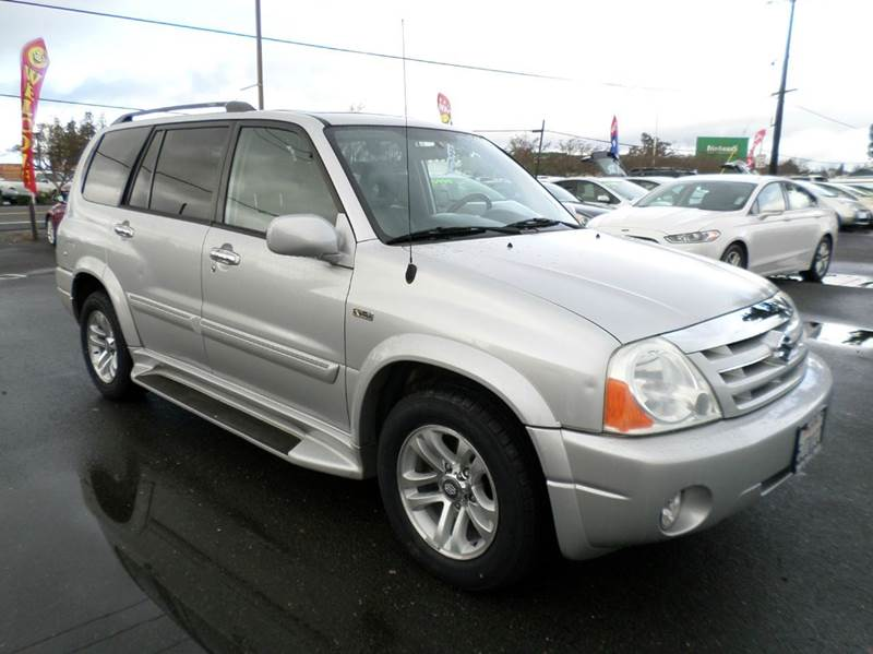 2004 SUZUKI XL7 EX 4DR SUV silver new tires abs - 4-wheel axle ratio - 513 center consol