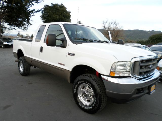 2003 FORD F-350 SUPER DUTY LARIAT 4DR SUPERCAB 4WD SB white 1 owner carfax low mileage truck