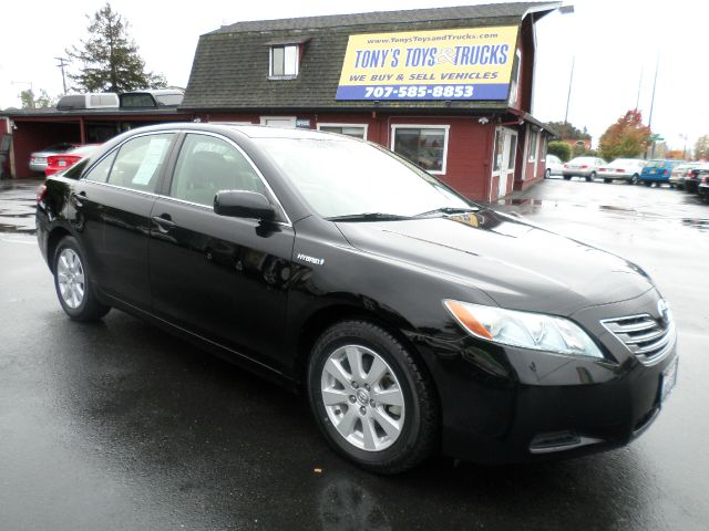 2007 TOYOTA CAMRY HYBRID BASE 4DR SEDAN black clean car always service at local dealer 2-stag