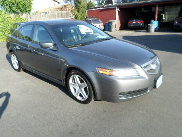 2006 ACURA TL BASE WNAVI 4DR SEDAN WNAV SYST gray one owner vehicle abs - 4-wheel air f
