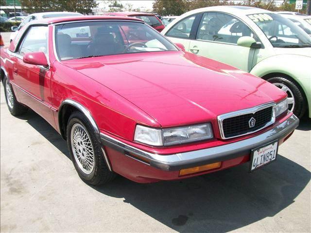 1989 Chrysler TC