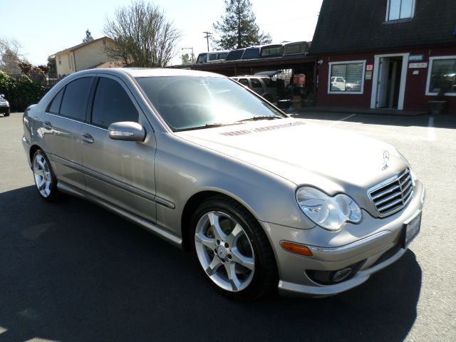 2007 MERCEDES-BENZ C-CLASS C230 SPORT 4DR SEDAN charcoal 2-stage unlocking - remote abs - 4-whee