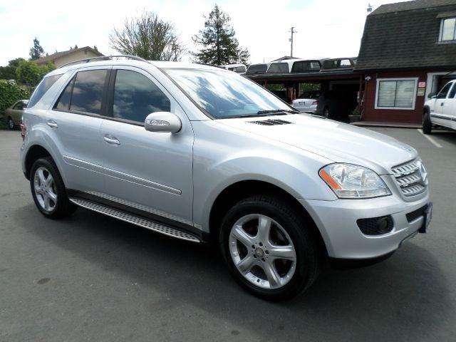 2008 MERCEDES-BENZ M-CLASS ML350 AWD 4MATIC 4DR SUV silver 2-stage unlocking - remote 4wd type -