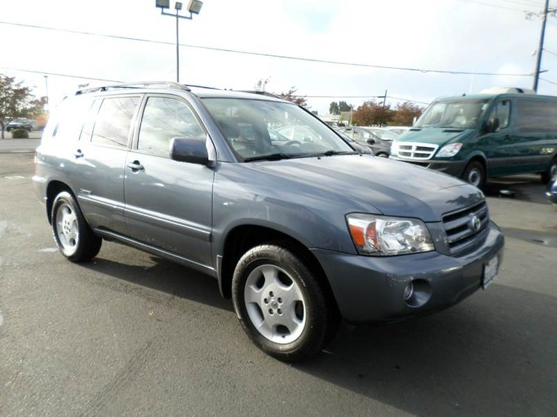 2006 TOYOTA HIGHLANDER LIMITED AWD 4DR SUV W3RD ROW lt blue limited4wd3rd row seating