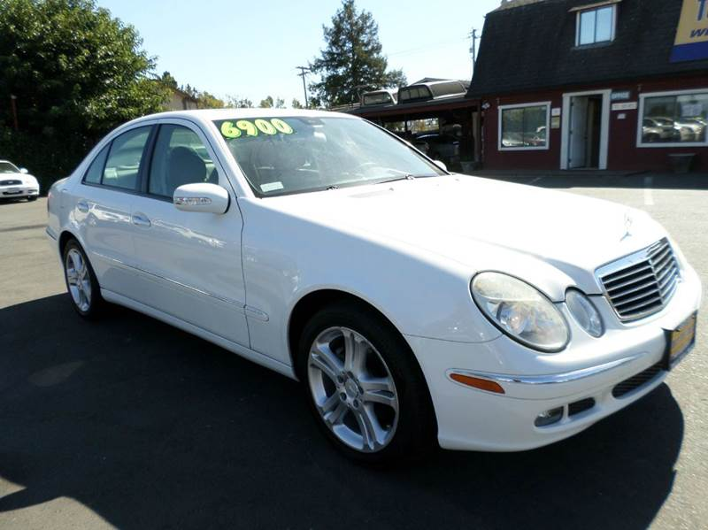 2006 MERCEDES-BENZ E-CLASS E 350 4DR SEDAN white new tires abs - 4-wheel air filtration