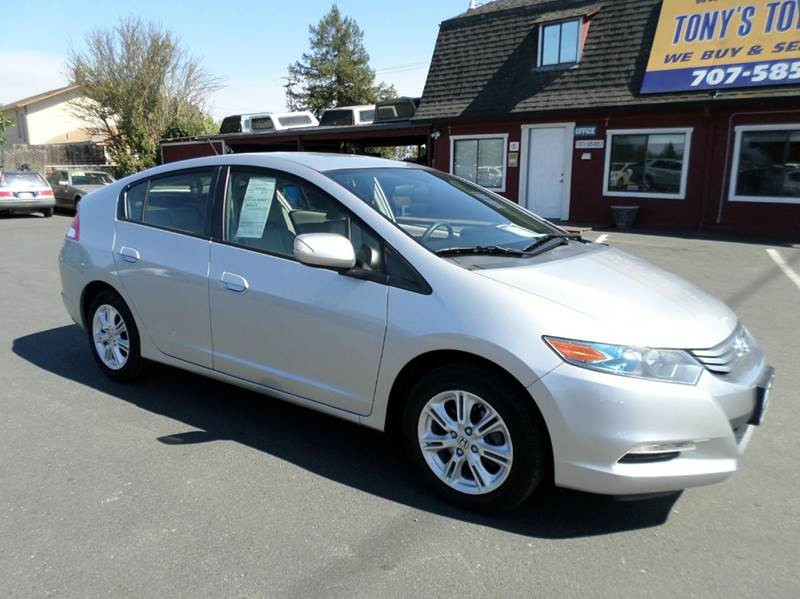 2010 HONDA INSIGHT EX 4DR HATCHBACK silver 40 city 43 hwy low miles abs - 4-wheel active head re