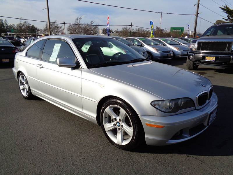 2004 BMW 3 SERIES 325CI 2DR COUPE silver 5sp manual abs - 4-wheel center console cruise