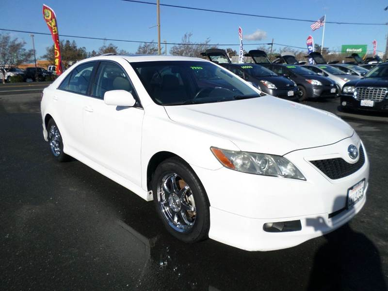 2007 TOYOTA CAMRY SE V6 4DR SEDAN white 2-stage unlocking doors abs - 4-wheel air filtration a