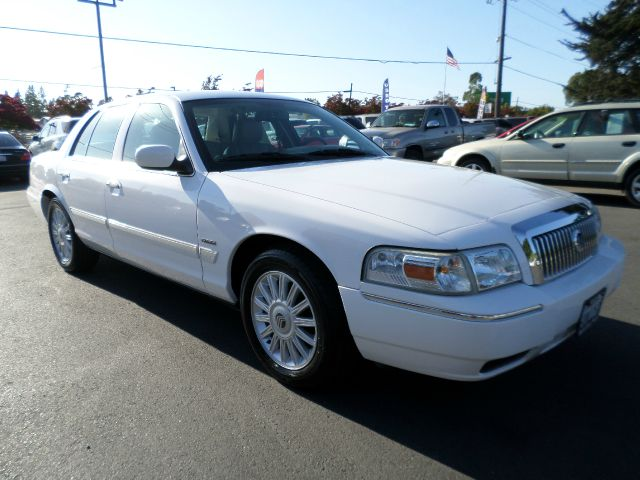 2010 MERCURY GRAND MARQUIS LS 4DR SEDAN white abs - 4-wheel ambient lighting antenna type - elem