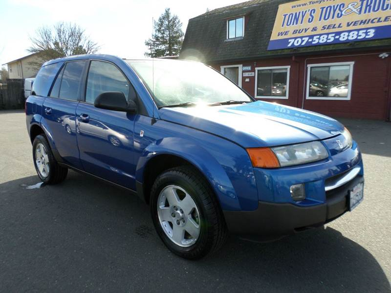 2004 SATURN VUE BASE AWD 4DR SUV V6 blue awd new tiresonly 104920 miles a
