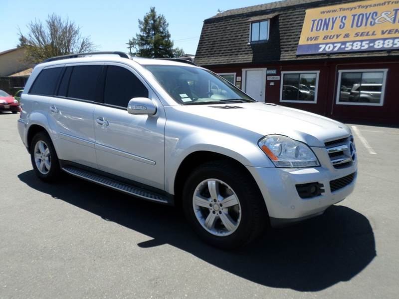 2008 MERCEDES-BENZ GL-CLASS GL450 4MATIC AWD 4DR SUV silver 2-stage unlocking doors 3rd row moonr