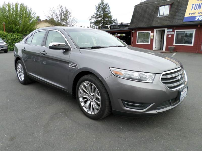 2013 FORD TAURUS LIMITED 4DR SEDAN gray only 25639 miles 2-stage unlocking doors abs - 4-wheel