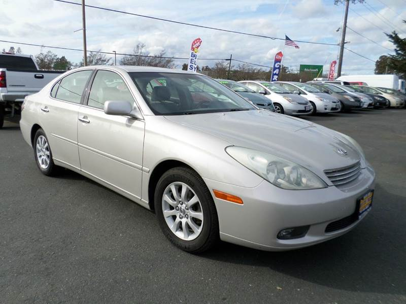2003 LEXUS ES 300 BASE 4DR SEDAN silver one owner vehicle abs - 4-wheel anti-theft syst